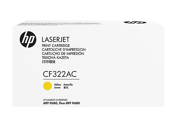 HP 653A Ylw Contract LJ Toner Cartridge