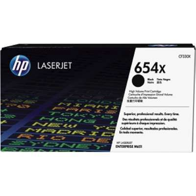 HP 654X Blk Contract LJ Toner Cartridge