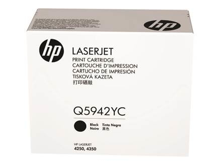 HP 42Y - černý Contract Toner, Q5942AC