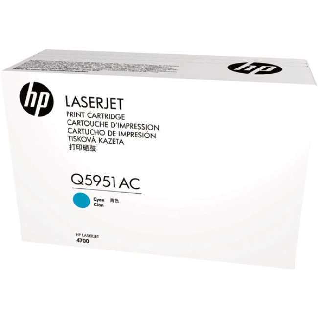 HP Q5951AC Cyn Contr LJ Toner Cartridge