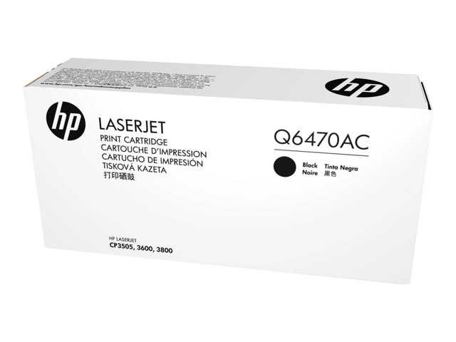 HP Q6470AC Blk Contr LJ Toner Cartridge