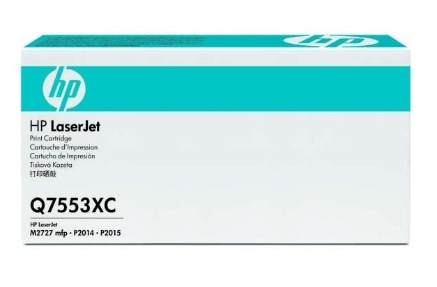 HP 53X Blk Contract LJ Toner Cartridge