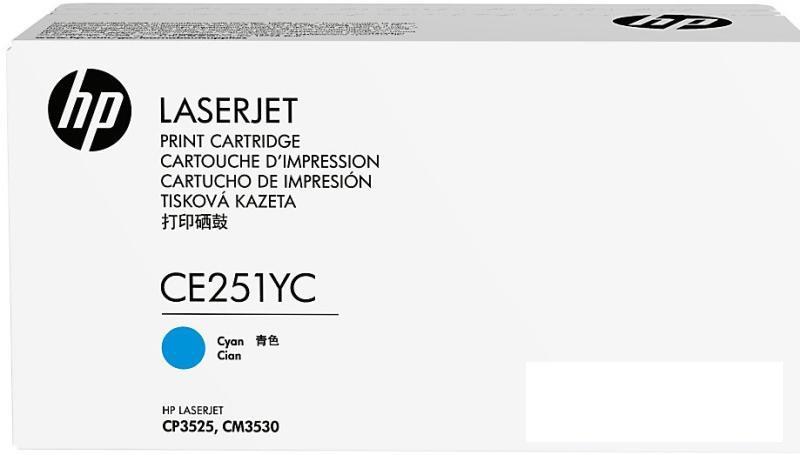 HP 504Y Cyn Opt Contr LJ Toner Crtg