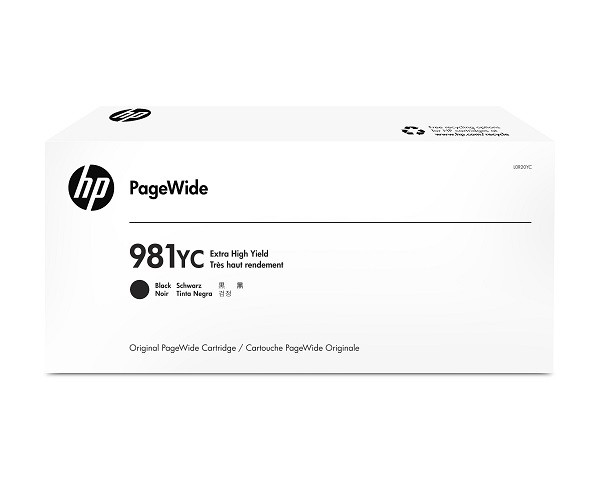 HP 981YC Black Contract PageWide Crtg