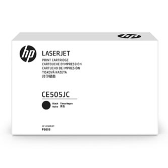 HP 05J Jumbo Black Contract Toner, CE505JC