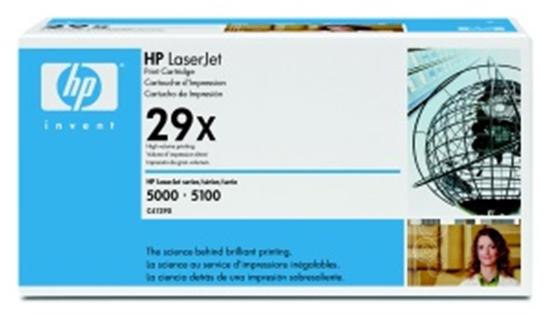 HP toner černý, ultraprecise, velký, C4129X