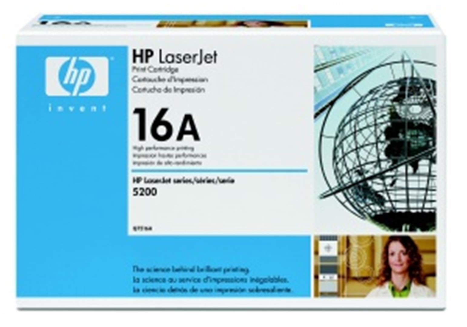 HP toner černý, Q7516A