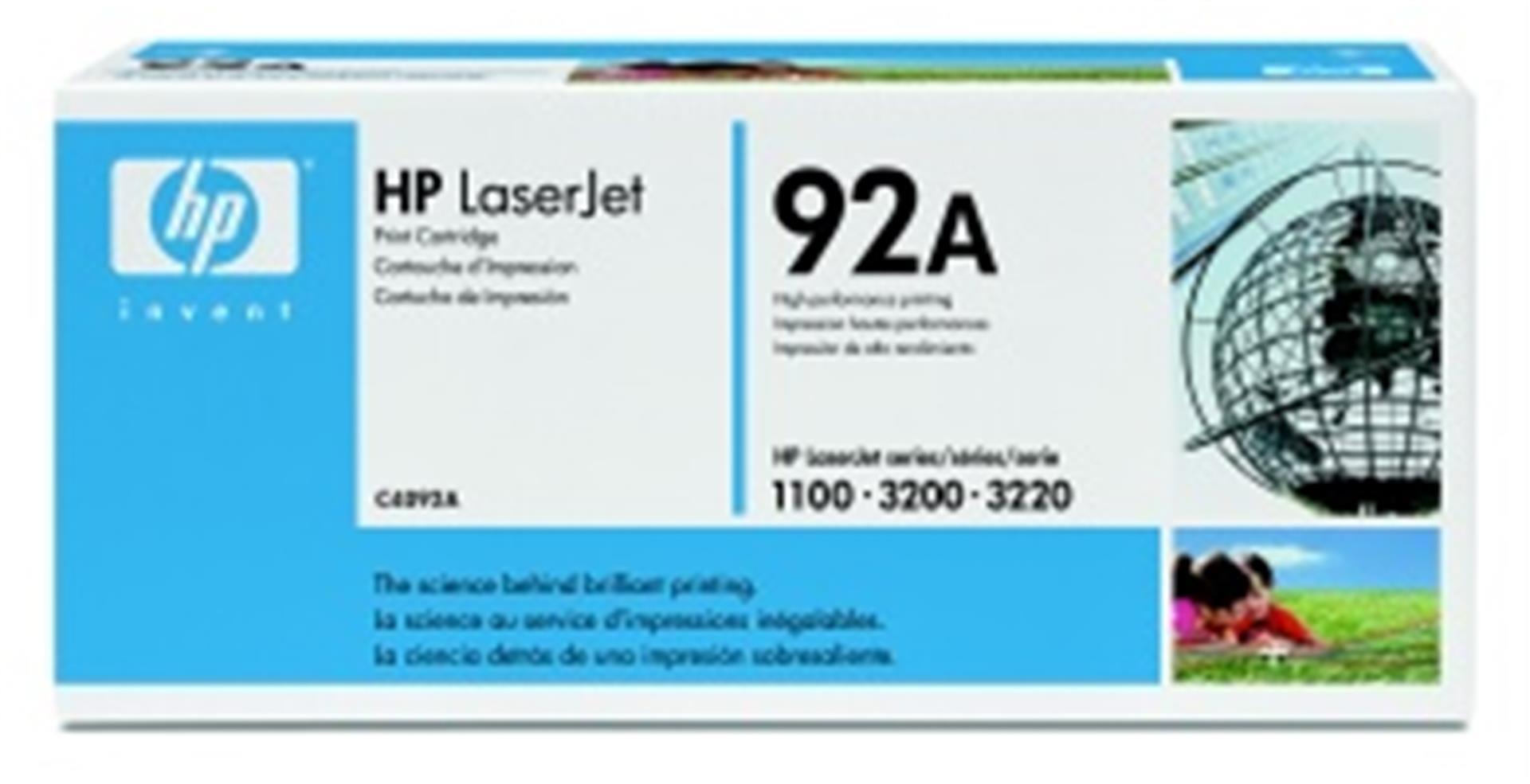 HP toner černý, ultraprecise, C4092A