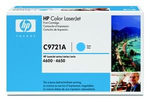 HP toner modrý, C9721A