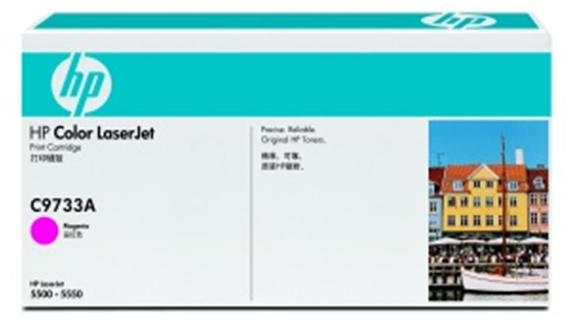HP Color LaserJet purpurový toner, C9733A