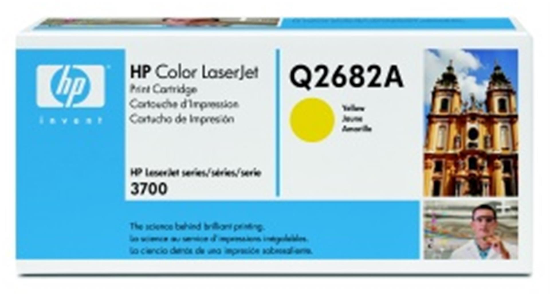 HP Color LaserJet žlutý toner, Q2682A