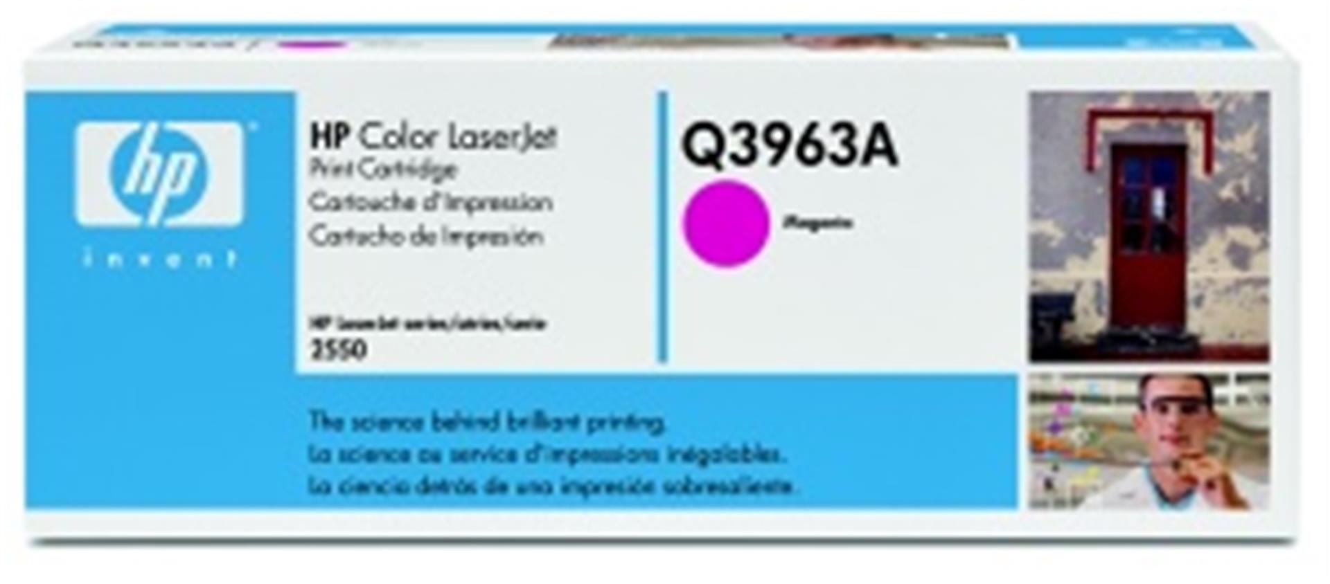 hp color laserjet purpurový toner, Q3963A