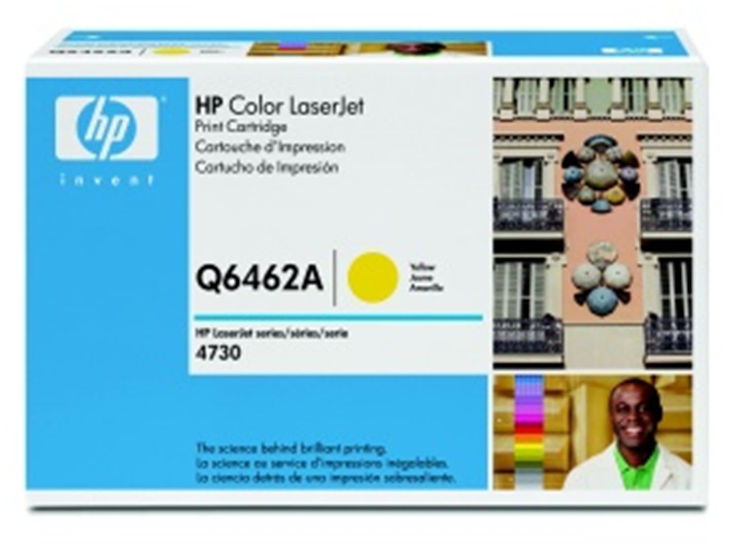 hp color laserjet žlutý toner, Q6462A