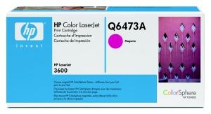 hp colorsphere purpurový toner, Q6473A