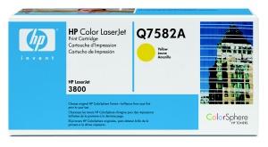 hp colorsphere žlutý toner, Q7582A