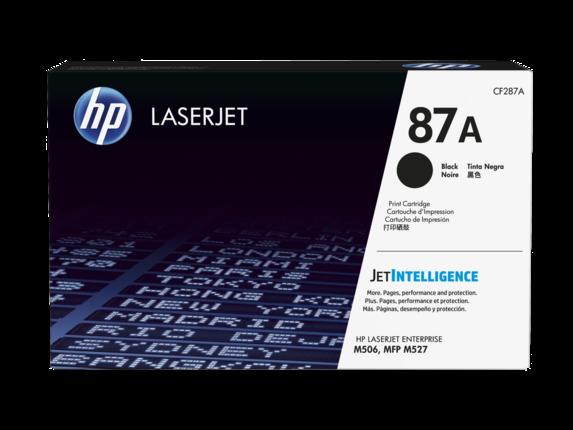 HP laserjet černý toner, CF287A