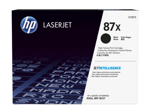HP laserjet černý toner velký, CF287X
