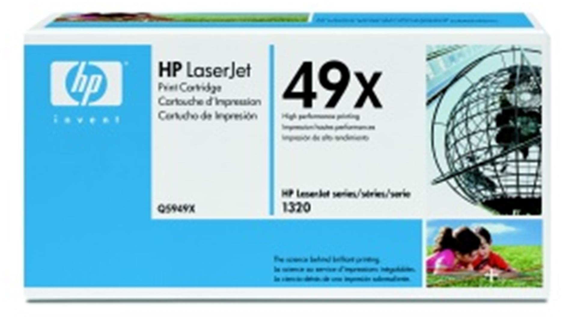 HP tisková kazeta černá velká, Q5949X