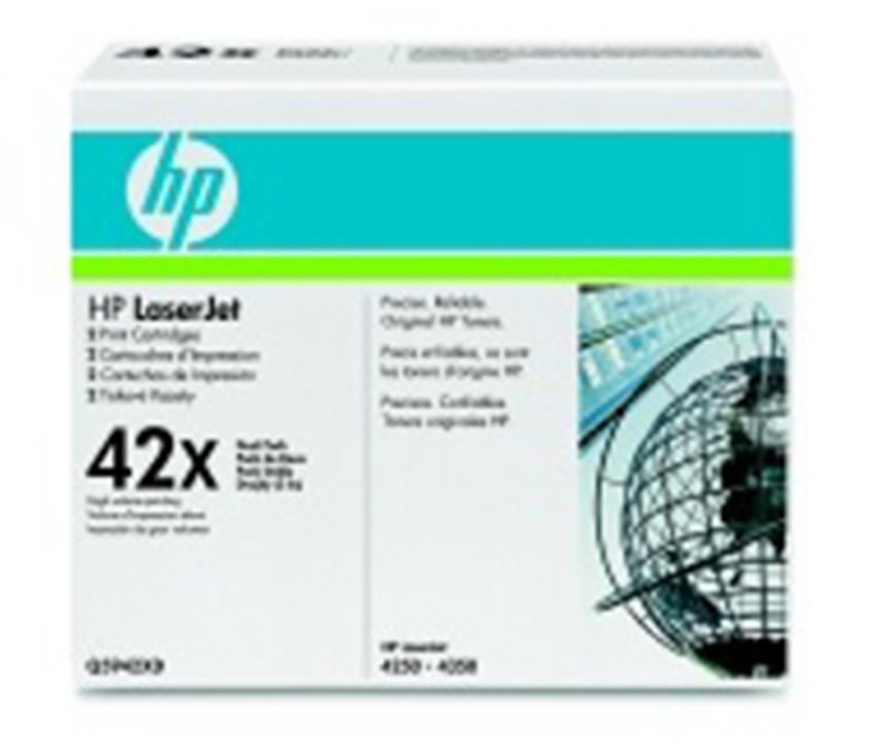 HP tisková kazeta černá - 2 pack, Q5942XD