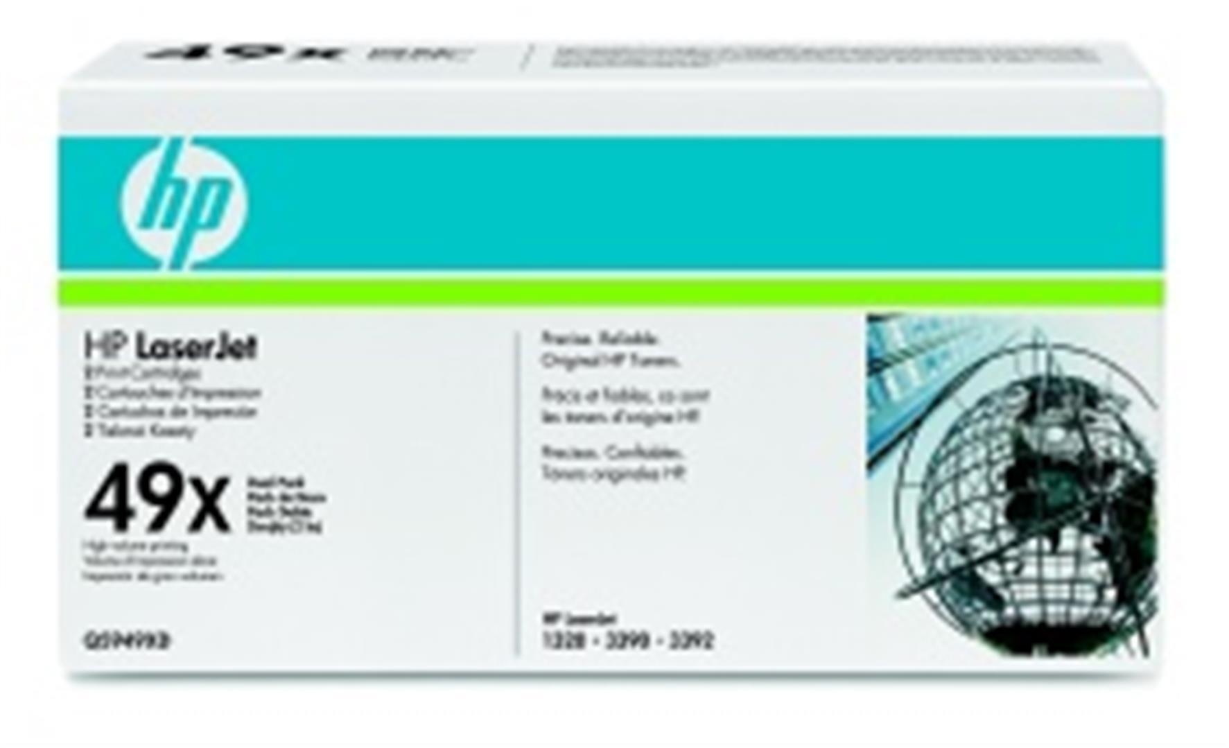 HP tisková kazeta černá - 2 pack, Q5949XD