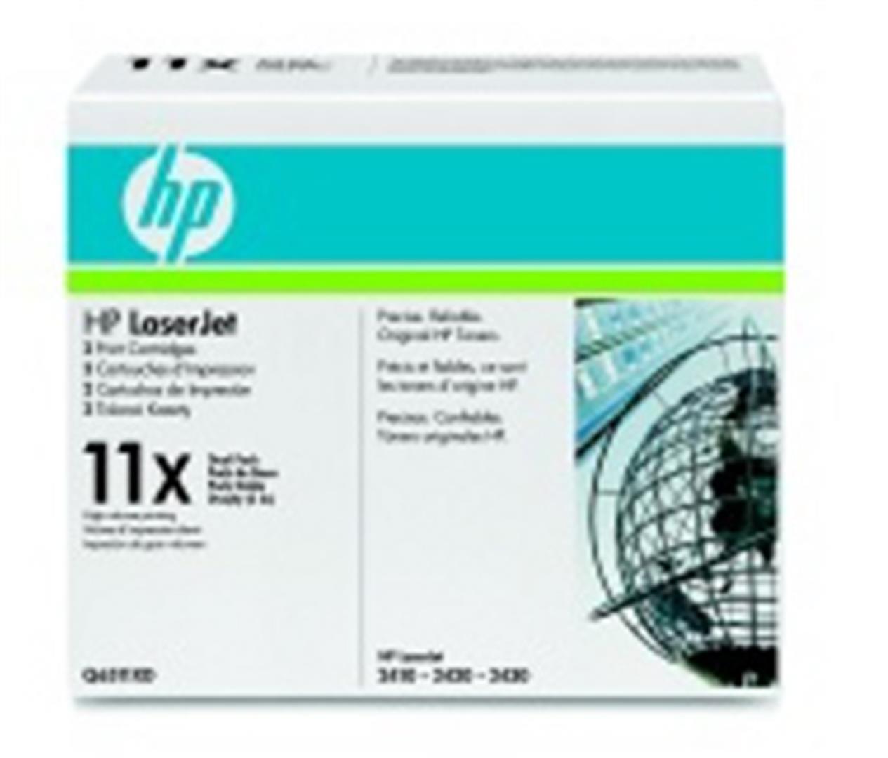HP tisková kazeta černá - 2 pack, Q6511XD