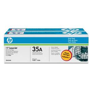 HP tisková kazeta černá 2-pack, CB435AD
