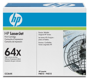 HP tisková kazeta černá velká, CC364X