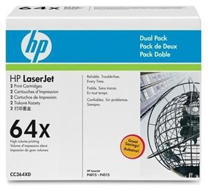 HP tisková kazeta černá velká, CC364XD