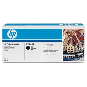 HP tisková kazeta černá, CE740A