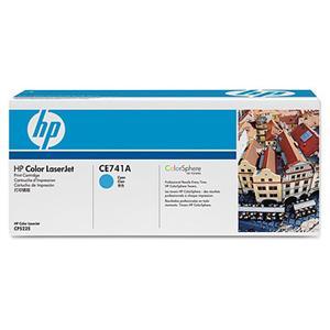 HP tisková kazeta azurová, CE741A
