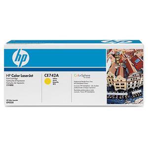 HP tisková kazeta žlutá, CE742A