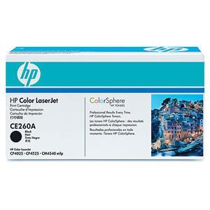 HP tisková kazeta černá, CE260A