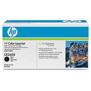 HP tisková kazeta černá velká, CE260X