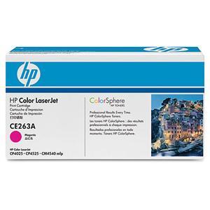 HP tisková kazeta purpurová, CE263A