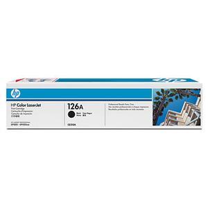 HP tisková kazeta černá, CE310A