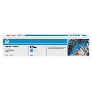 HP tisková kazeta azurová, CE311A