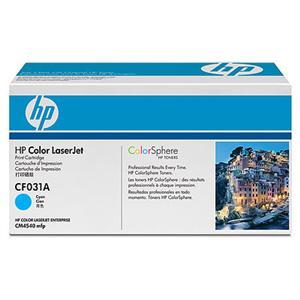 HP tisková kazeta azurová, CF031A