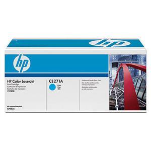 HP tisková kazeta azurová, CE271A