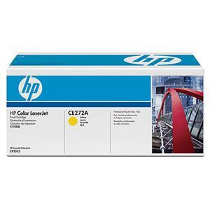 HP tisková kazeta žlutá, CE272A