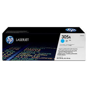 HP tisková kazeta azurová, CE411A