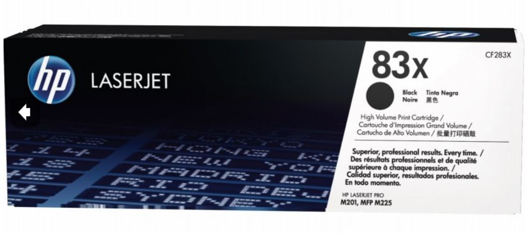 HP tisková kazeta černá velká, CF283X