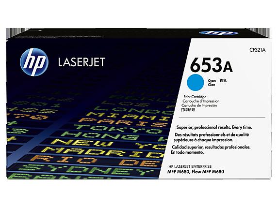 HP tisková kazeta azurová, CF321A