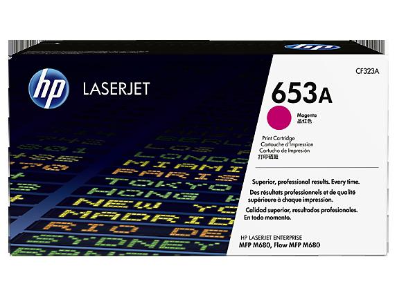 HP tisková kazeta purpurová, CF323A