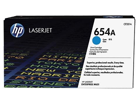 HP tisková kazeta azurová, CF331A