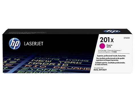 HP 201X tisková kazeta purpurová velká, CF403X