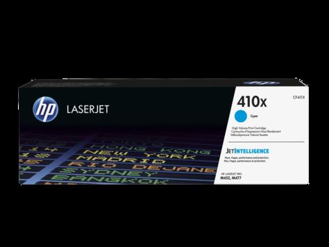 HP 410X tisková kazeta azurová velká, CF411X