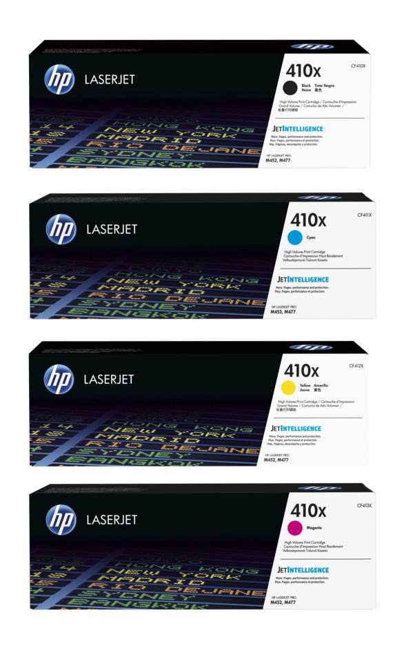 HP 410X bundle - CF410X+CF411X+CF412X+CF413X