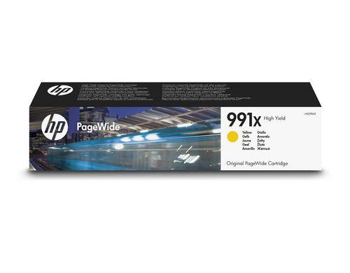 HP 991X High Yield žlutá PageWid Cartrige, M0J98AE