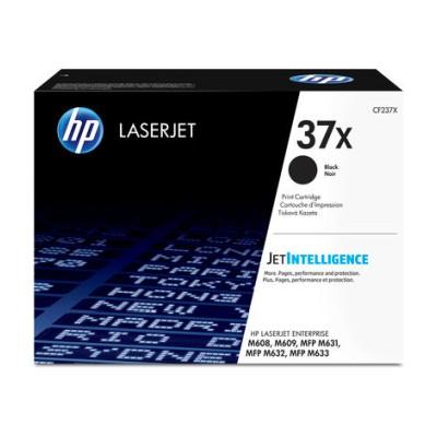 HP 37X High Yield černá LaserJet Cartridge, CF237X