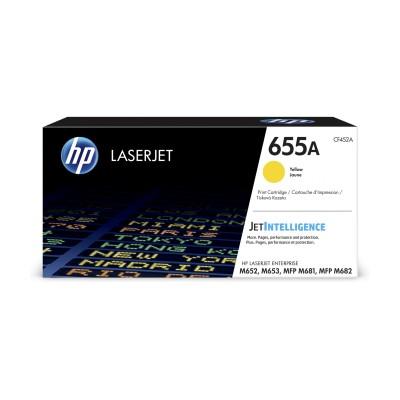HP 655A žlutá LaserJet Cartridge, CF452A